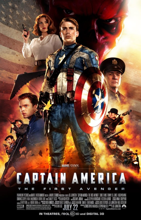 Captain America (2011) - Poster