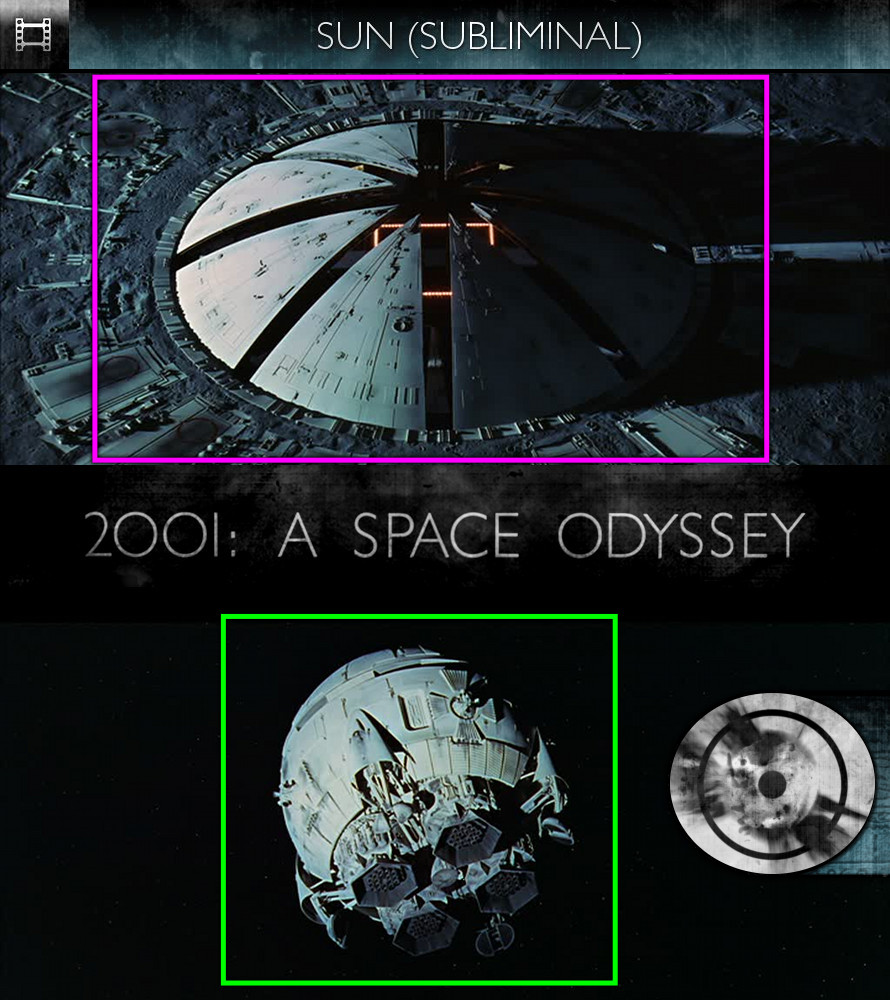 2001: A Space Odyssey (1968) - Sun/Solar - Subliminal
