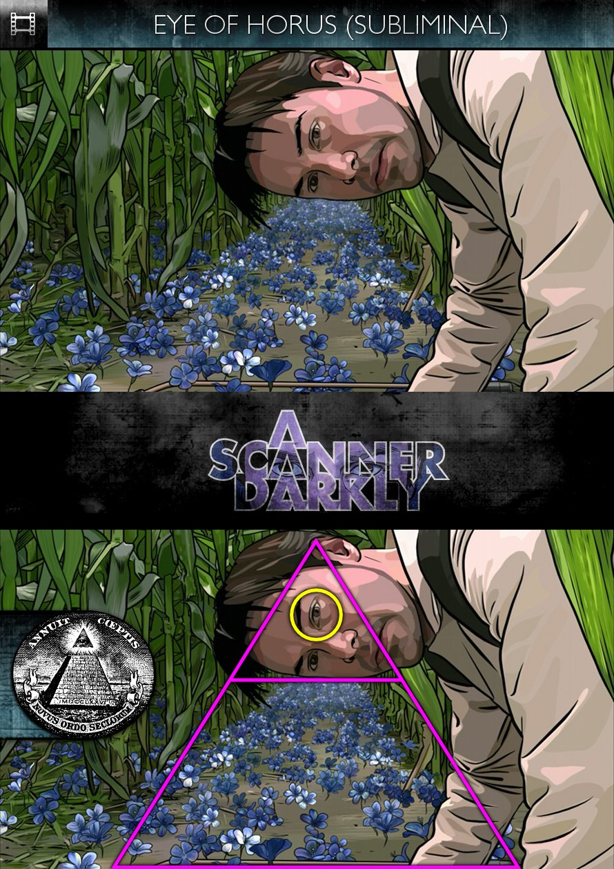A Scanner Darkly (2006) - Eye of Horus - Subliminal