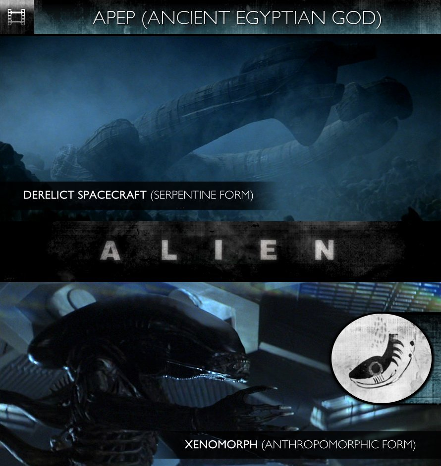 APEP - Alien (1979) - Derelict Spacecraft & Xenomorph