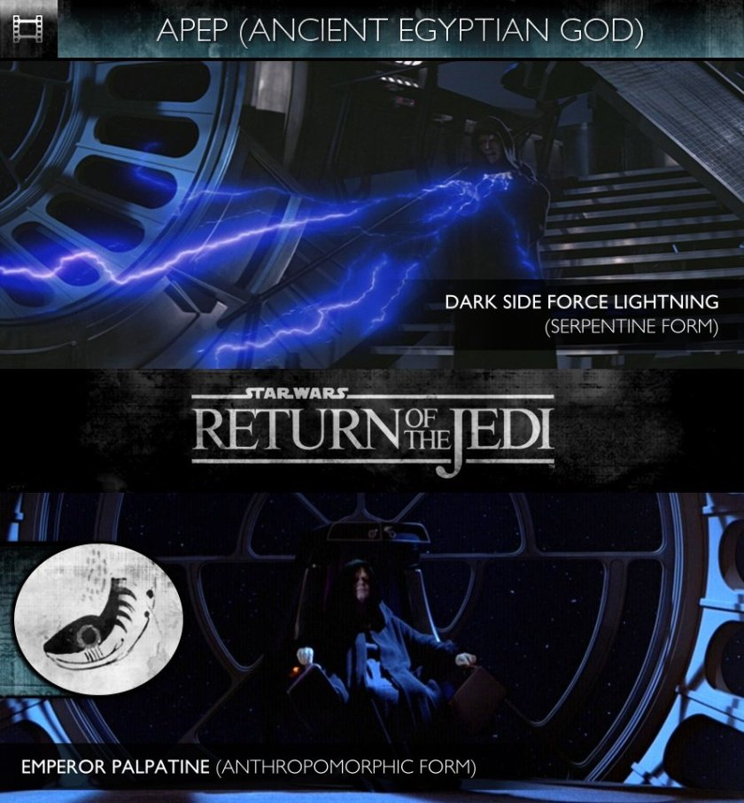 APEP - Star Wars - Episode VI: Return of the Jedi (1983) - Dark Side Force Lightning & Emperor Palpatine