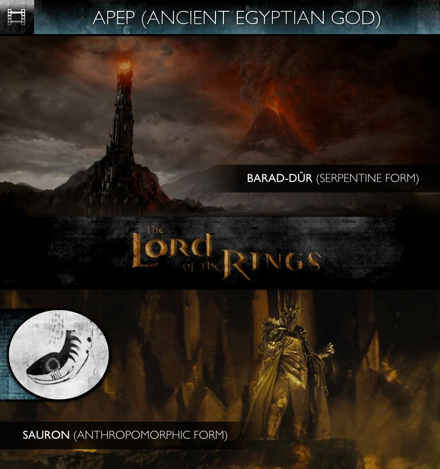 APEP - The Lord of the Rings (2001) - Barad-dûr & Sauron