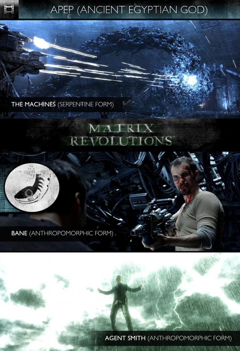 APEP - The Matrix Revolutions (2003) - The Machines, Bane/Smith & Agent Smith