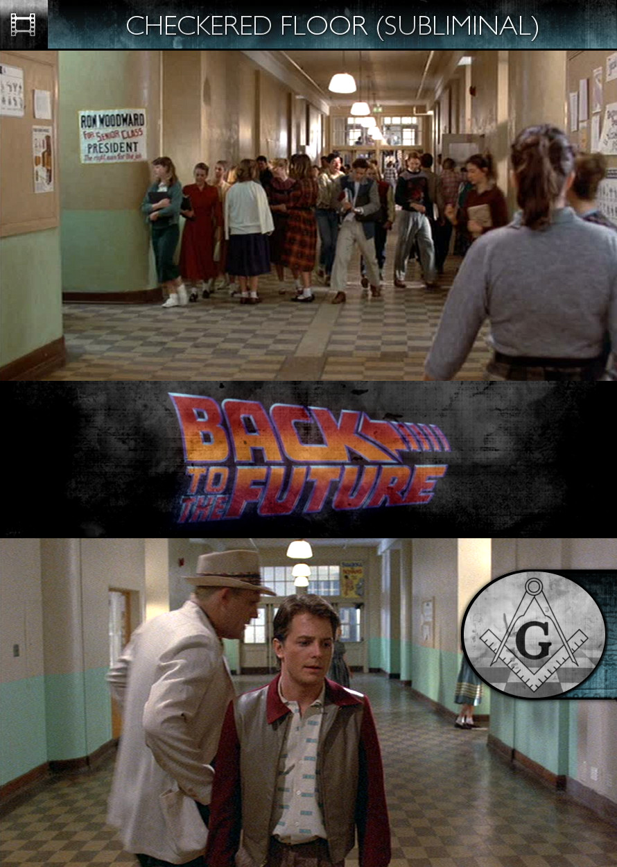 Back to the Future (1985) - Checkered Floor - Subliminal