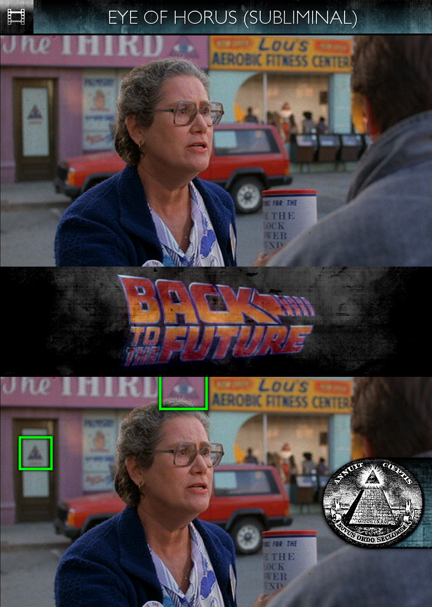 Back to the Future (1985) - Eye of Horus - Subliminal
