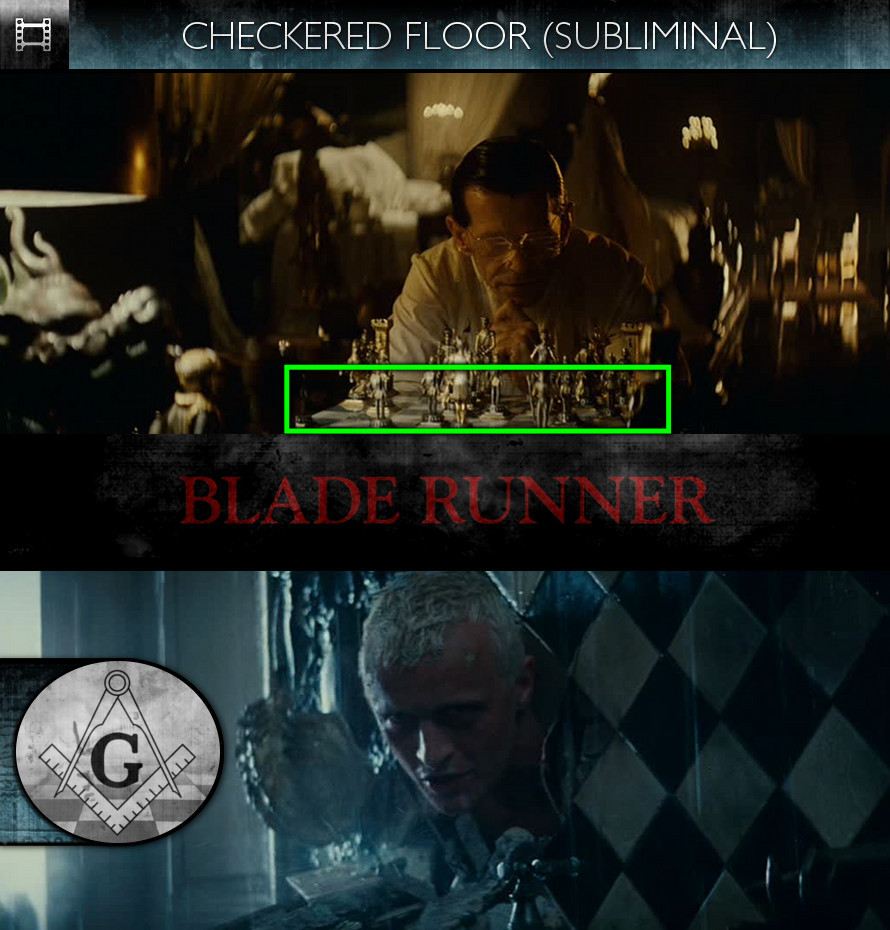 Blade Runner (1982) - Checkered Floor - Subliminal