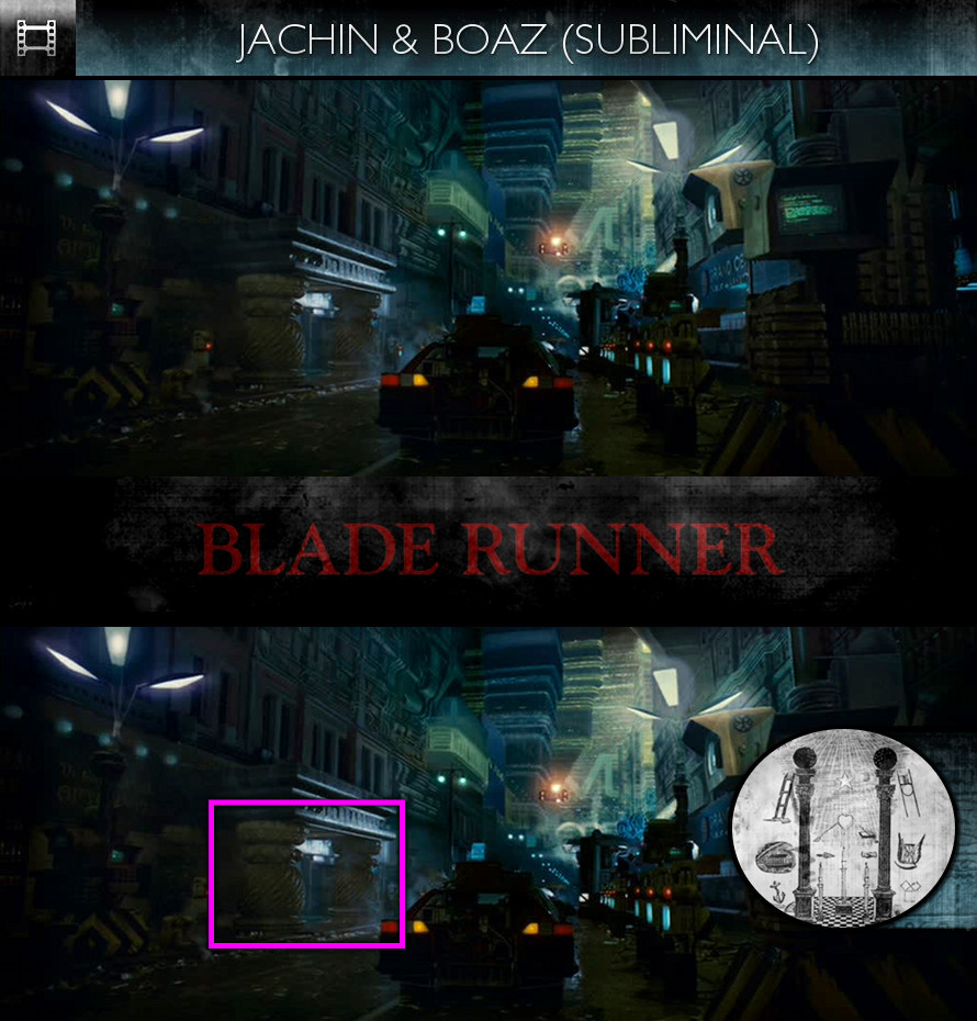 Blade Runner (1982) - Jachin & Boaz - Subliminal