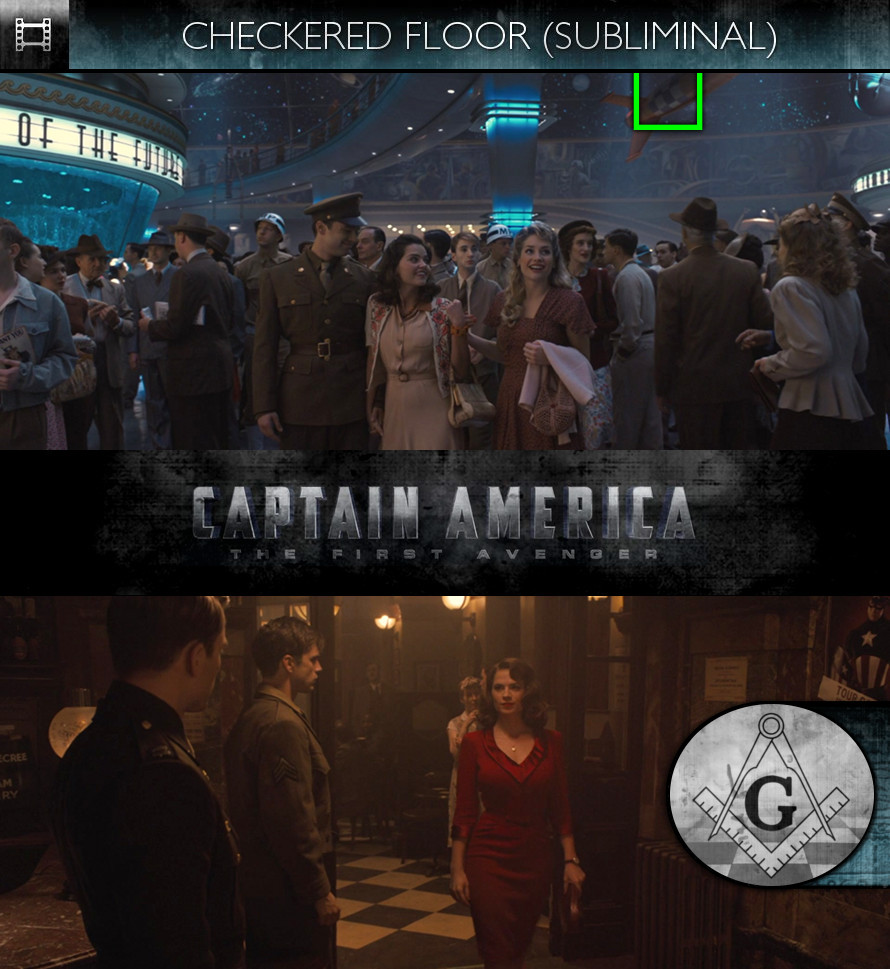 Captain America: The First Avenger (2011) - Checkered Floor - Subliminal