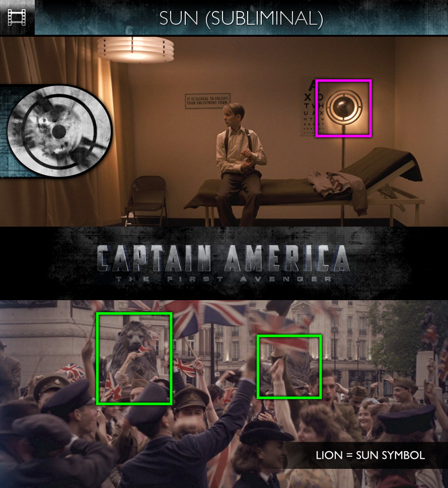 Captain America: The First Avenger (2011) - Sun/Solar - Subliminal