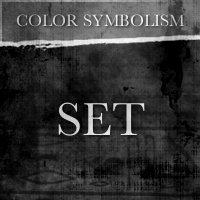Color Symbolism - SET - Black