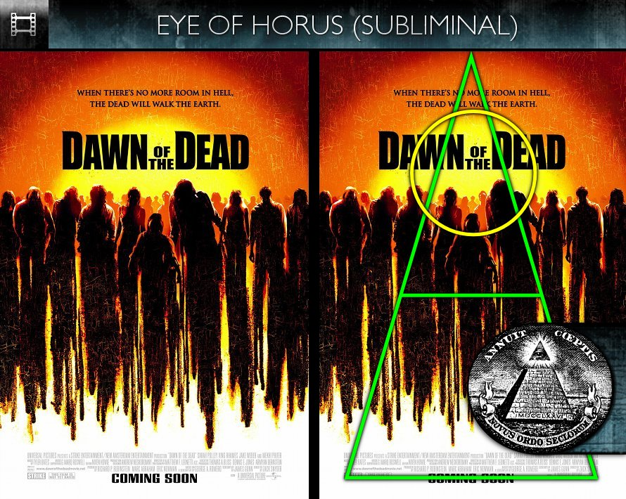 Dawn of the Dead (2004) - Poster - Eye of Horus - Subliminal