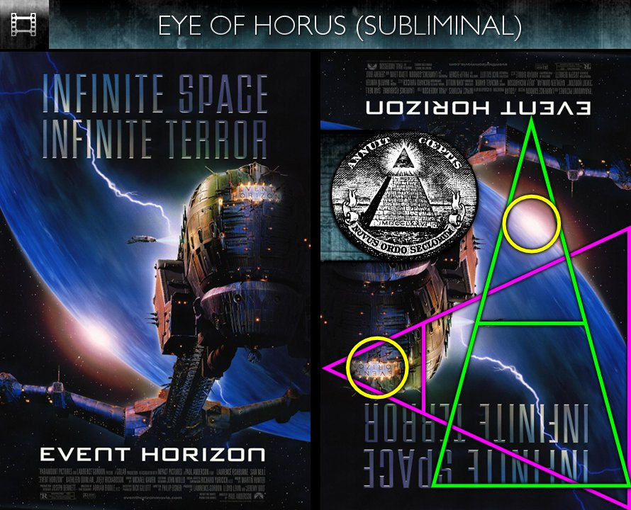 Event Horizon (1997) - Poster - Eye of Horus - Subliminal