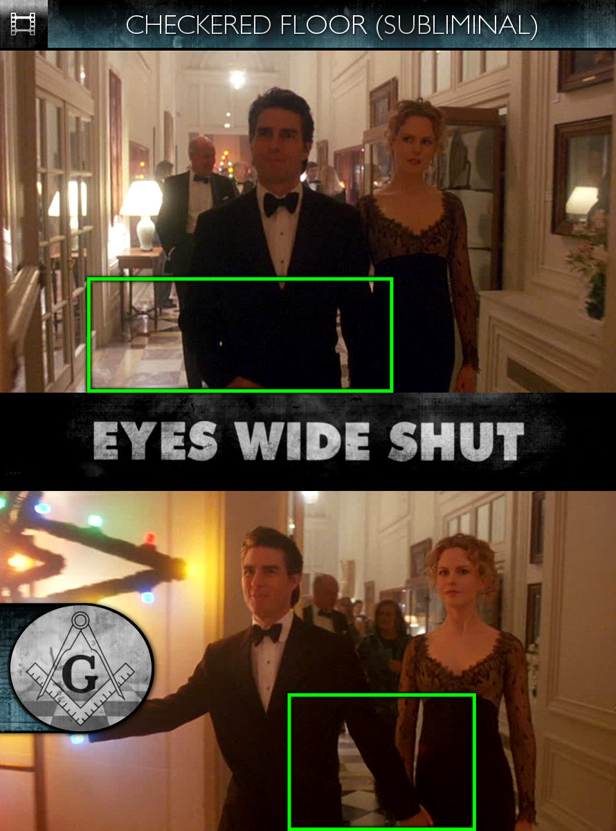 Eyes Wide Shut (1999) - Checkered Floor - Subliminal