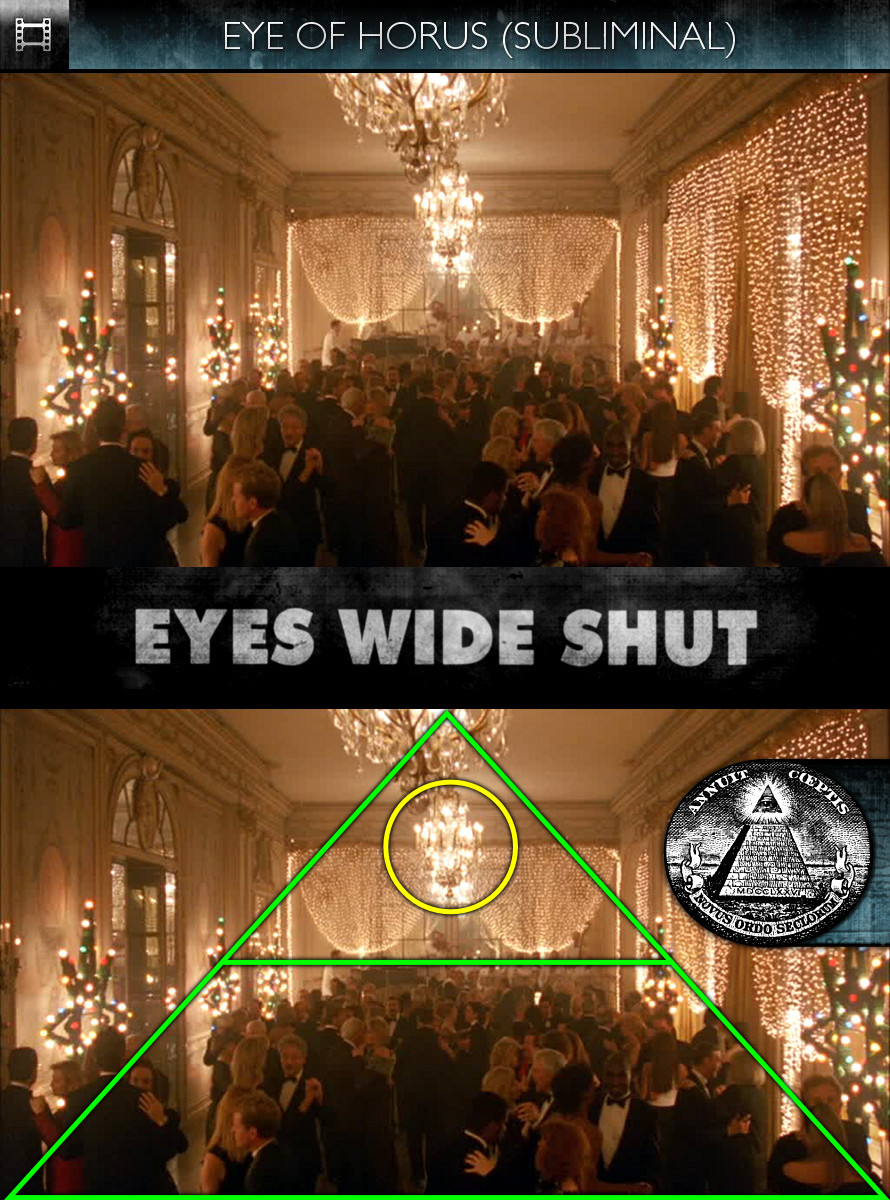Eyes Wide Shut (1999) - Eye of Horus - Subliminal