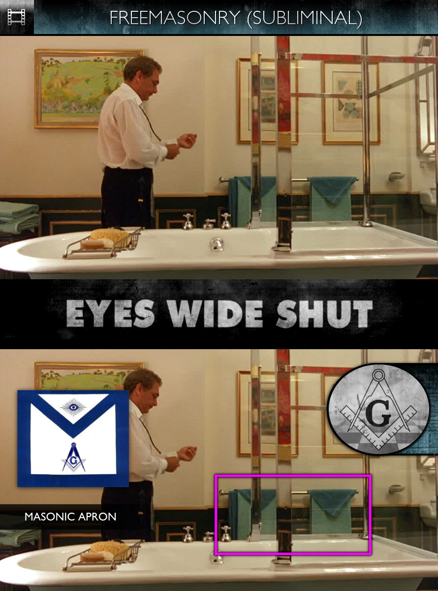 Eyes Wide Shut (1999) - Freemasonry - Subliminal