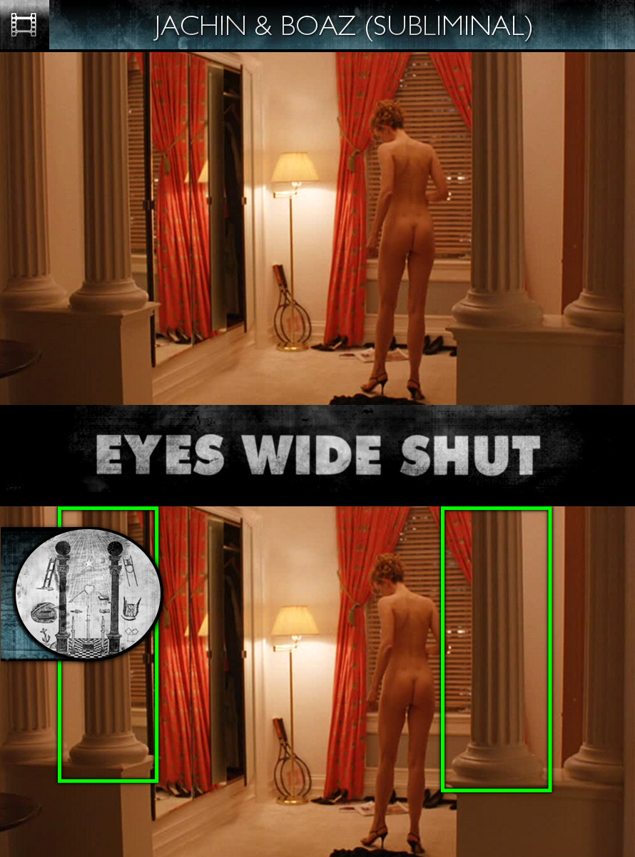 Eyes Wide Shut (1999) - Jachin and Boaz - Subliminal
