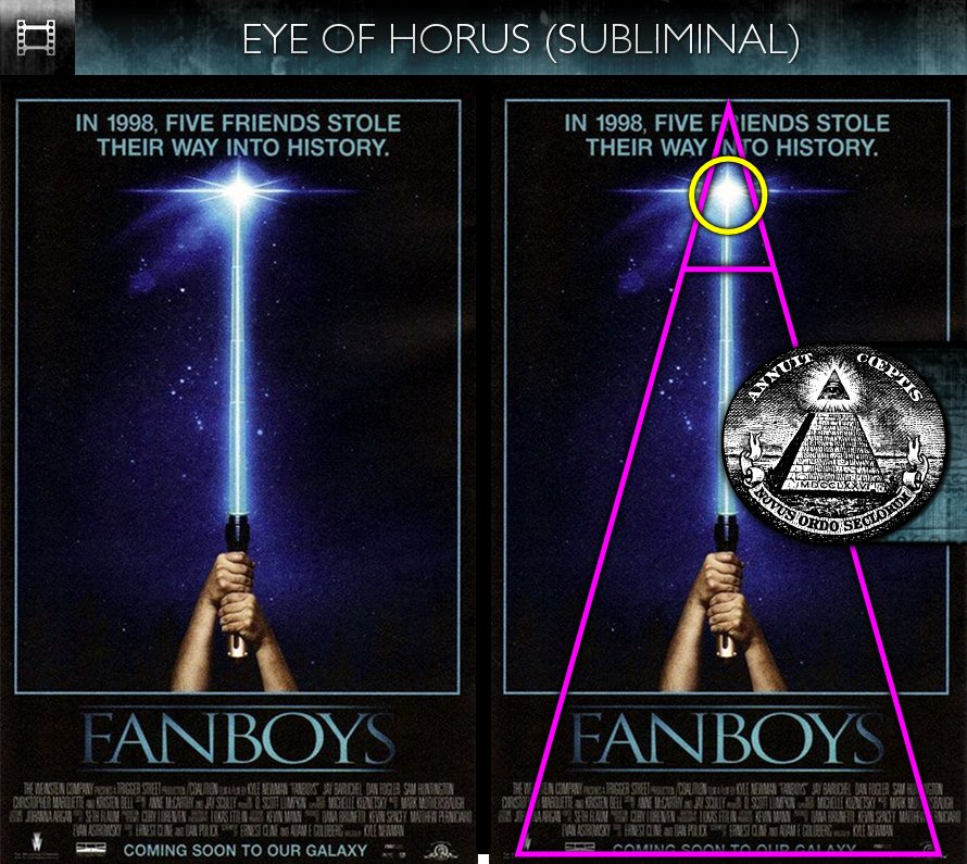 Fanboys (2008) - Poster - Eye of Horus - Subliminal