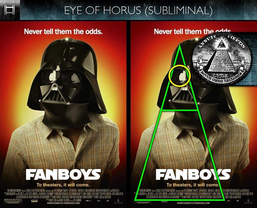 Fanboys (2008) - Poster - Eye of Horus - Subliminal