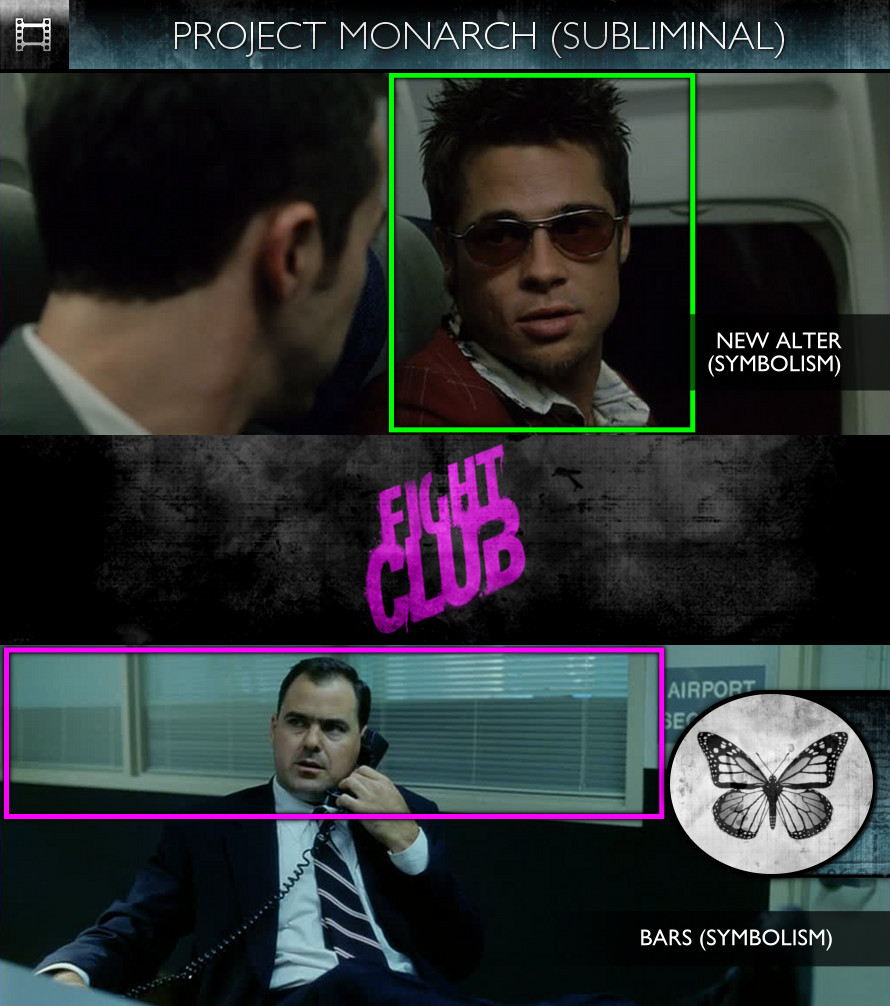 Fight Club (1999) - Project Monarch - Subliminal