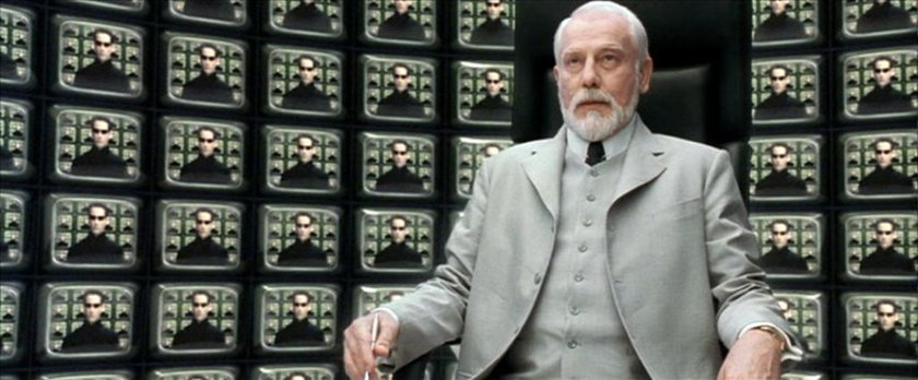 Freemasonry hollywood subliminals for Matrix reloaded architect