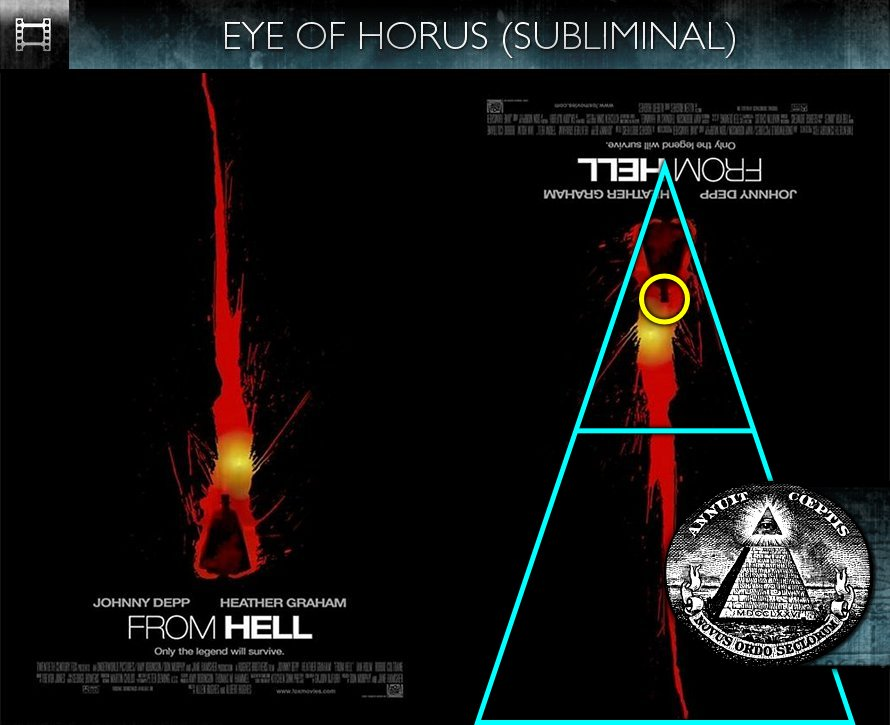 From Hell (2001) - Poster - Eye of Horus - Subliminal