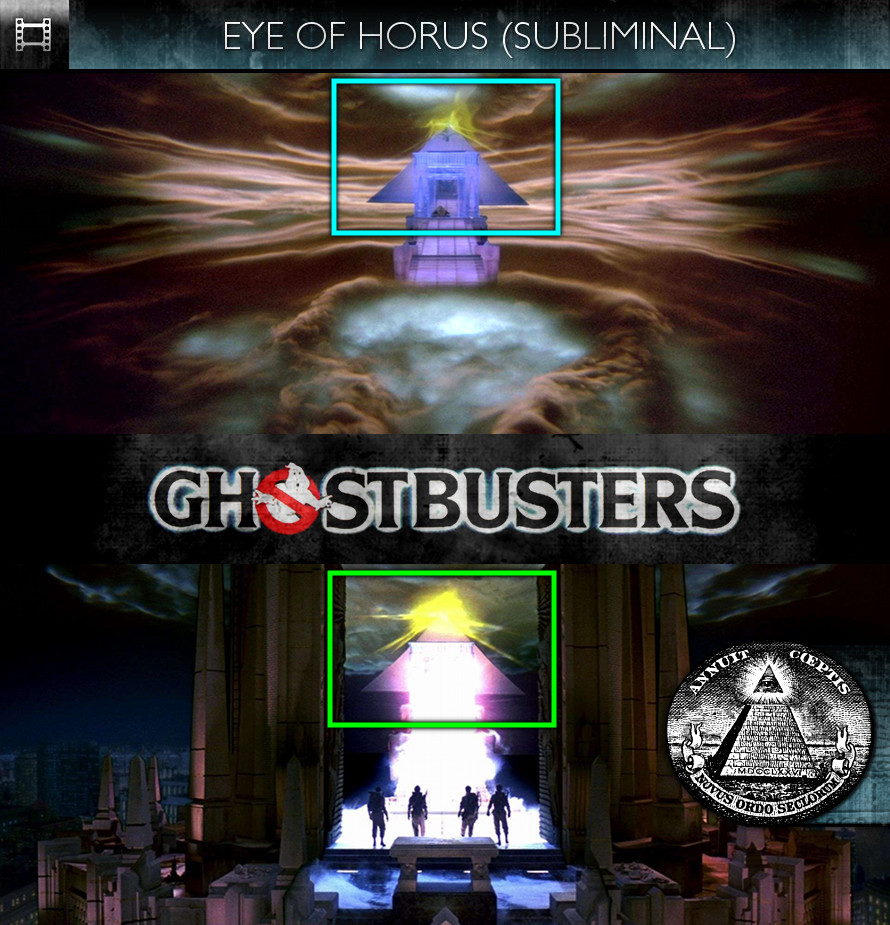 Ghostbusters (1984) - Eye of Horus - Subliminal