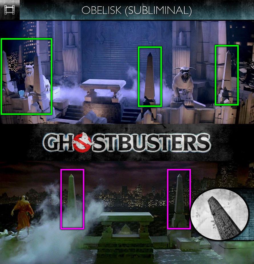 Ghostbusters (1984) - Obelisk - Subliminal