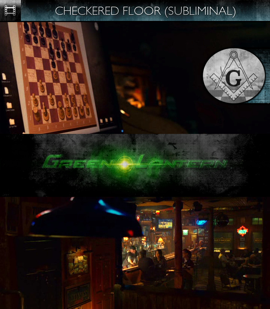 Green Lantern (2011) - Checkered Floor - Subliminal