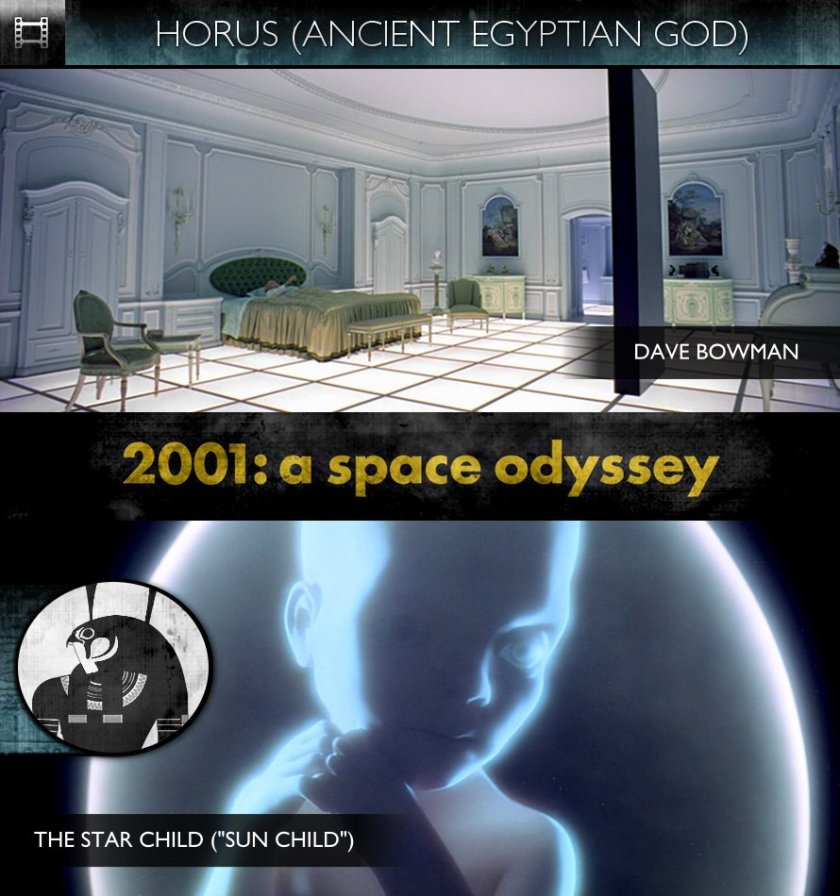 HORUS - 2001: A Space Odyssey (1968) - Dave Bowman & The Star Child