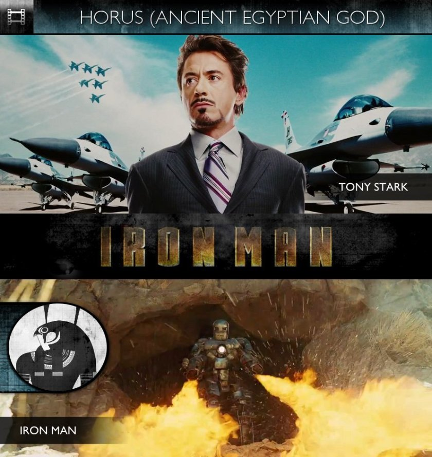 HORUS - Iron Man (2008) - Tony Stark & Iron Man