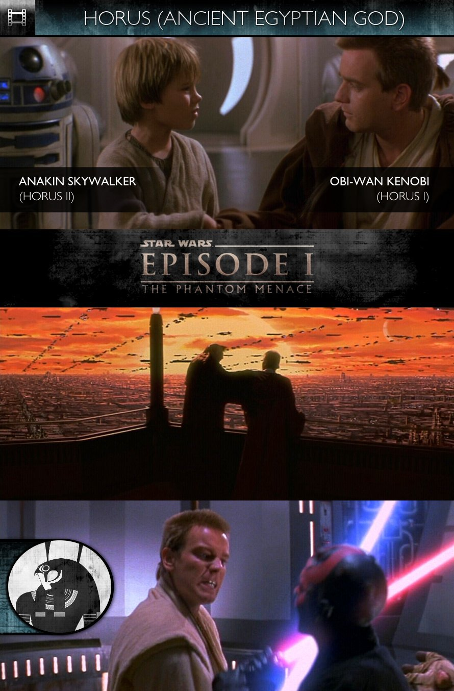 HORUS - Star Wars - Episode I - The Phantom Menace (1999) - Obi-Wan Kenobi & Anakin Skywalker