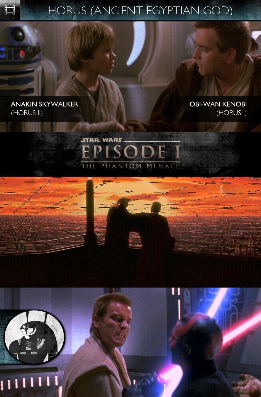 HORUS - Star Wars - Episode I - The Phantom Menace (1999) - Obi-Wan Kenobi & Anakin Skywalker