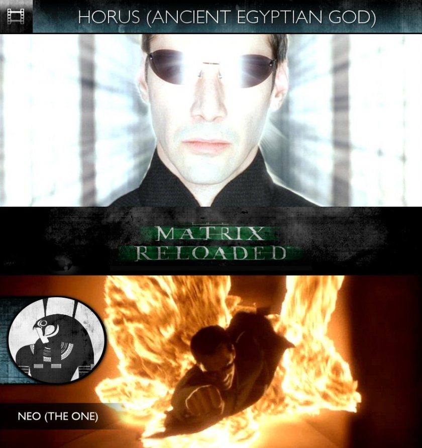 HORUS - The Matrix Reloaded (2003) - Neo
