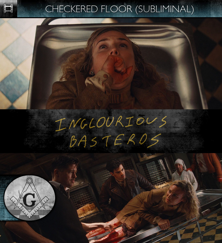 Inglourious Basterds (2009) - Checkered Floor - Subliminal
