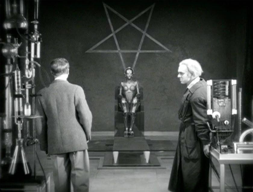 Inverted Pentagram - Metropolis