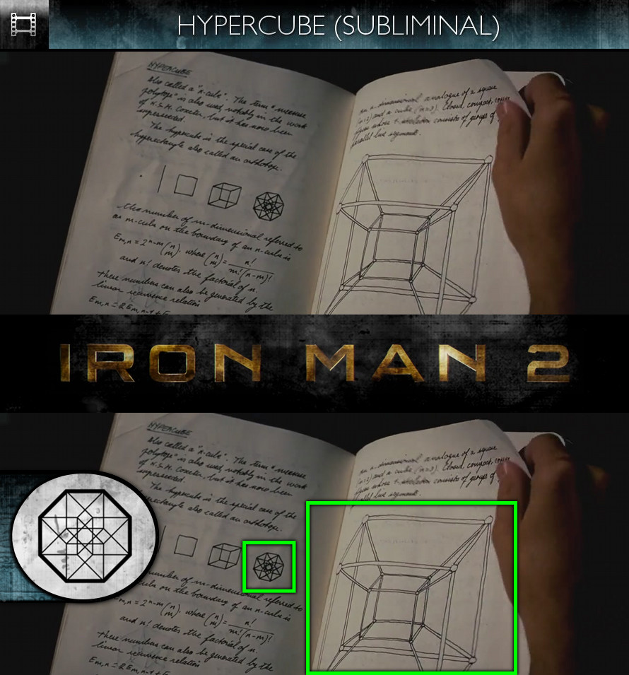 Iron Man 2 (2010) - Hypercube - Subliminal