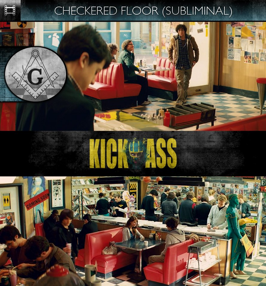Kick-Ass (2010) - Checkered Floor - Subliminal