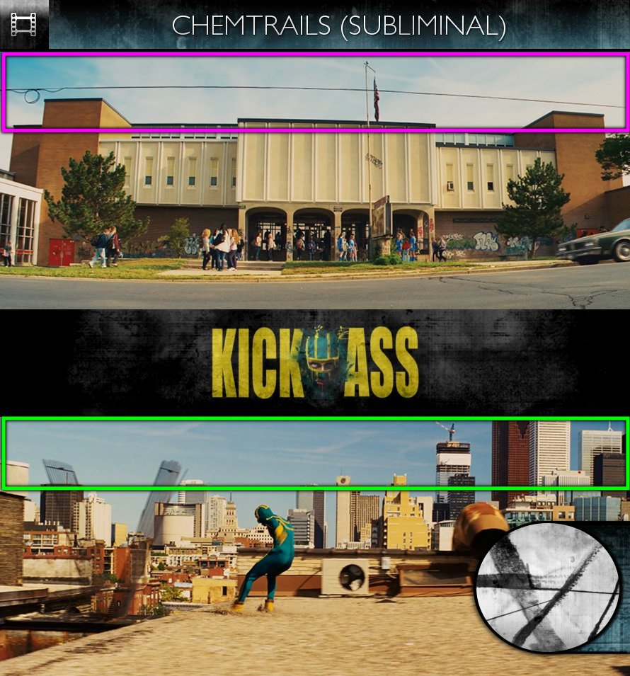Kick-Ass (2010) - Chemtrails - Subliminal