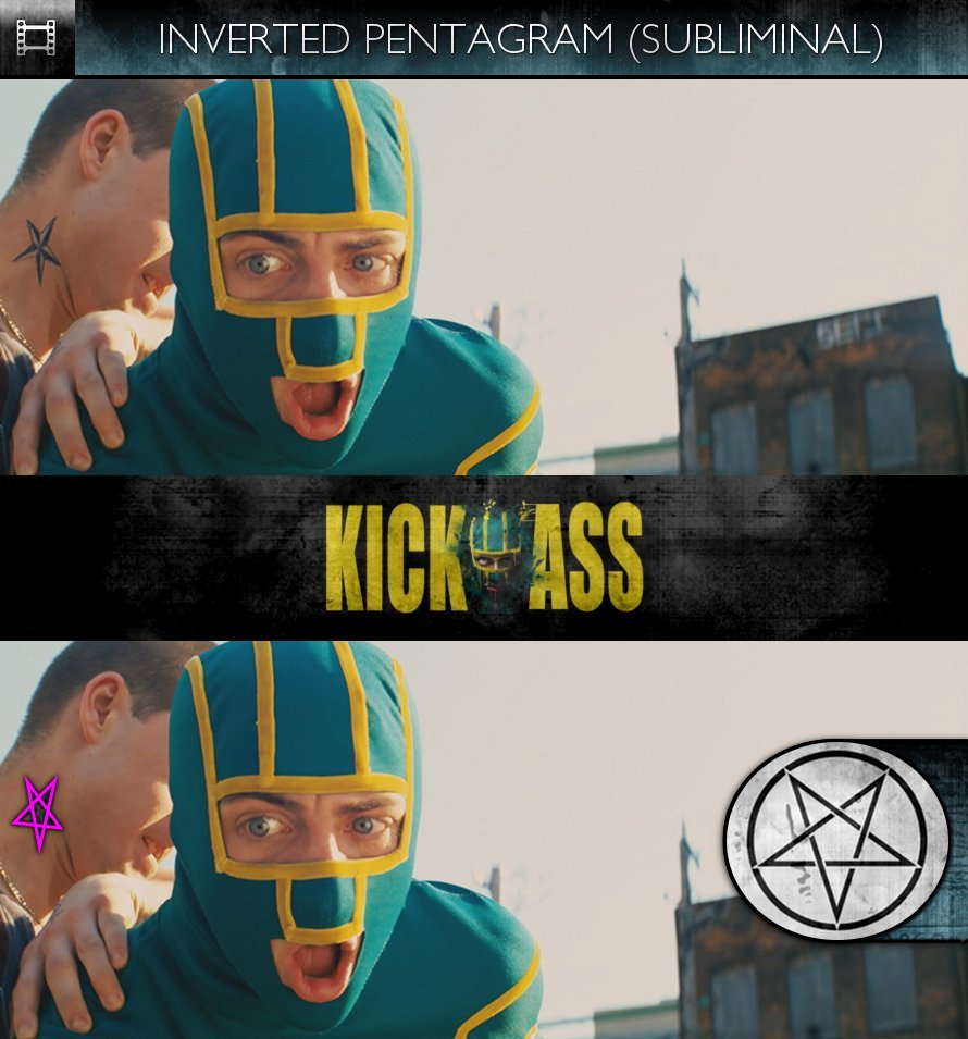 Kick-Ass (2010) - Inverted Pentagram - Subliminal