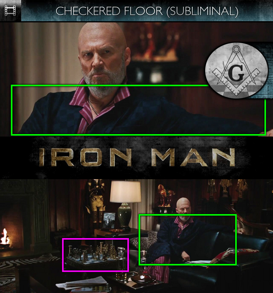 Iron Man (2008) - Checkered Floor - Subliminal