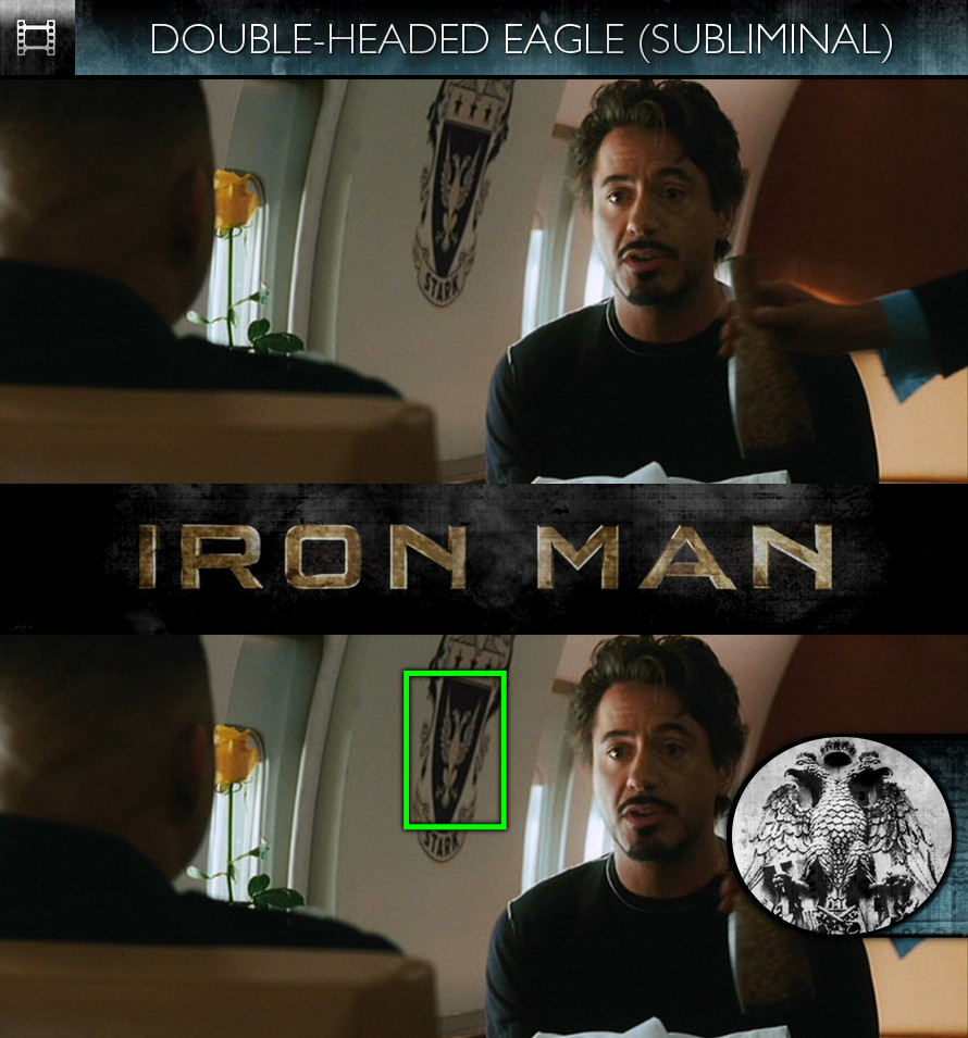 Iron Man (2008) - Double-Headed Eagle - Subliminal