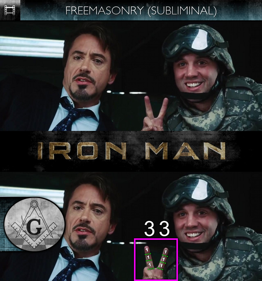 Iron Man (2008) - Freemasonry - Subliminal