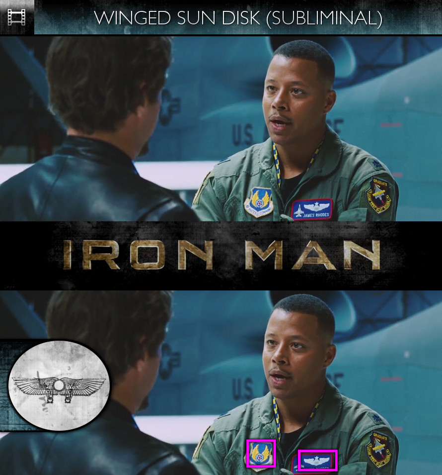 Iron Man (2008) - Winged Sun-Disk - Subliminal