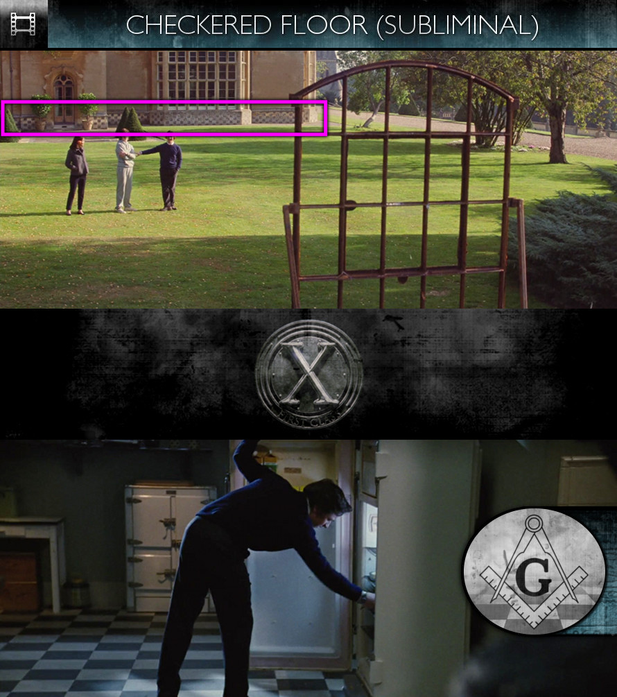 X-Men: First Class (2011) - Checkered Floor - Subliminal