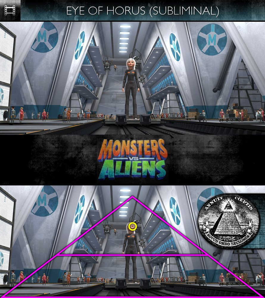 Monsters Vs Aliens (2009) - Eye of Horus - Subliminal