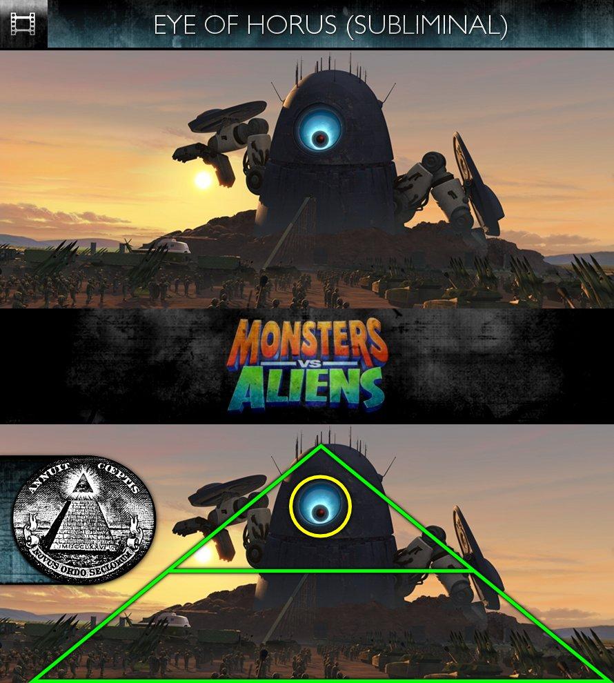 Monsters Vs Aliens (2009) - Eye of Horus - Subliminal