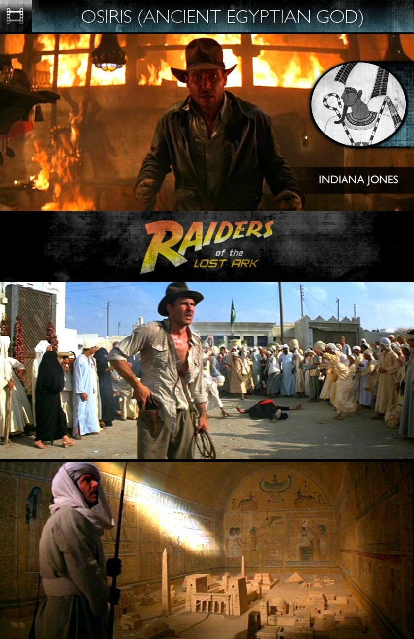 OSIRIS - Indiana Jones and the Raiders of the Lost Ark (1981) - Indiana Jones