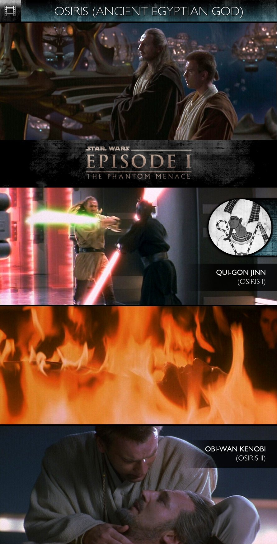 OSIRIS - Star Wars - Episode I: The Phantom Menace (1999) - Qui-Gon Jinn & Obi-Wan Kenobi