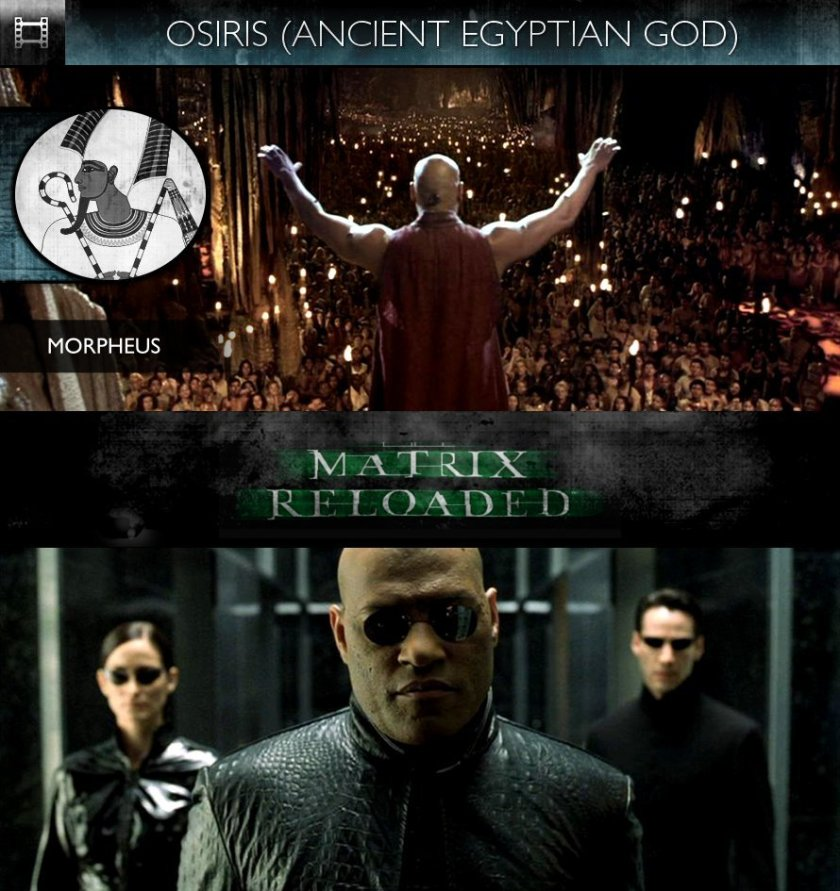 OSIRIS - The Matrix Reloaded (2003) - Morpheus