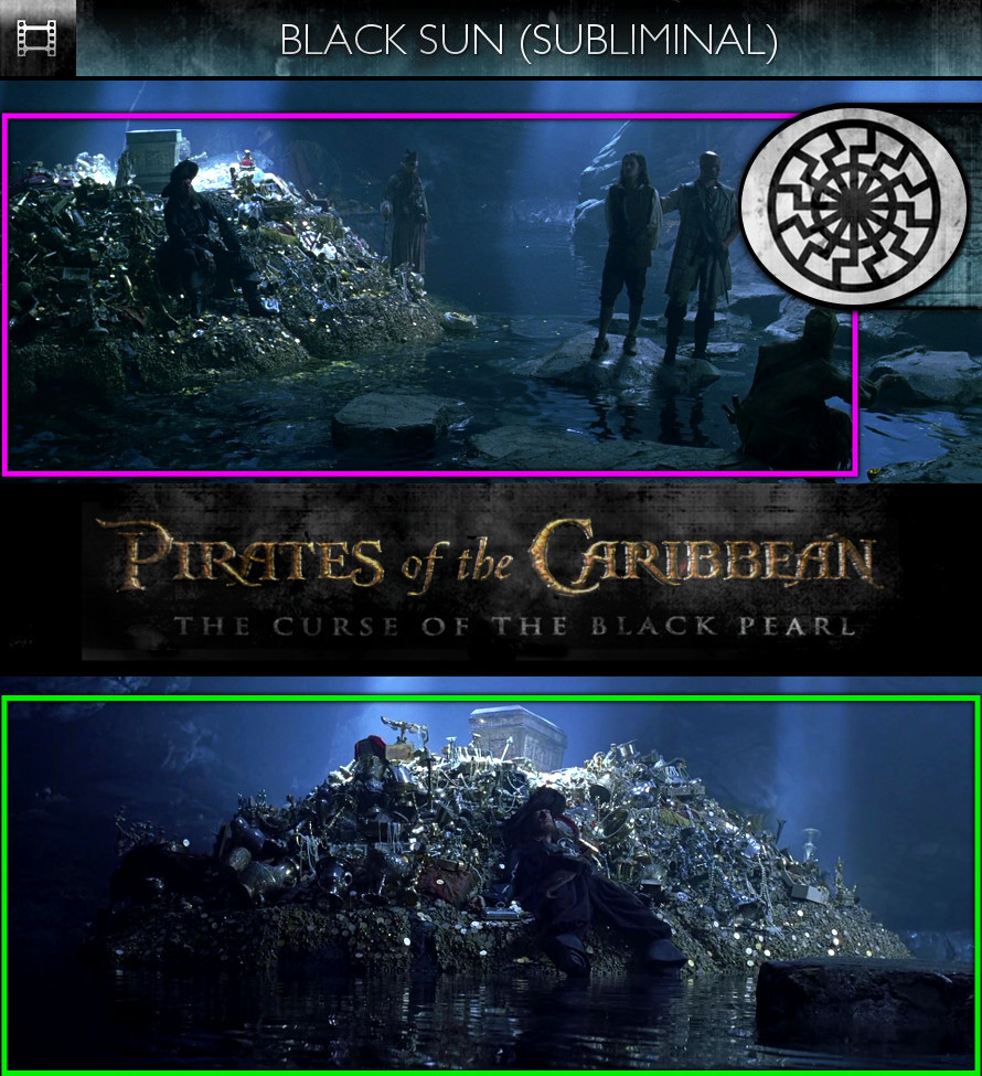 Pirates of the Caribbean: The Curse of the Black Pearl (2003) - Black Sun - Subliminal
